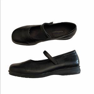 Rockport leather Mary Jane slip on shoes size 10